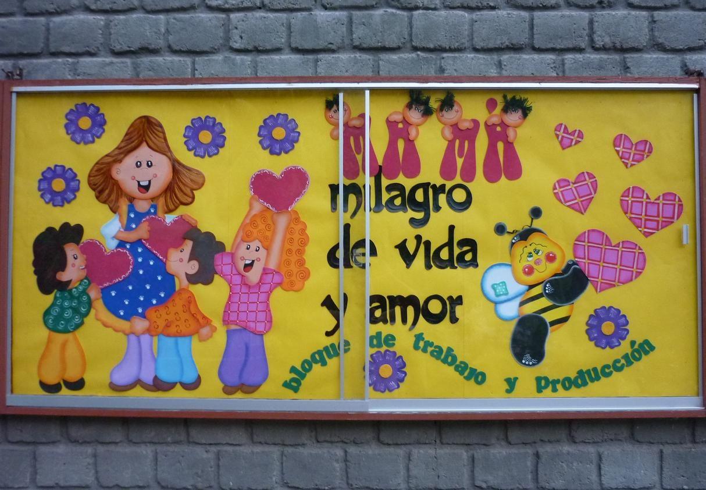 Murales Hermosos Por El Dia De La Madre
