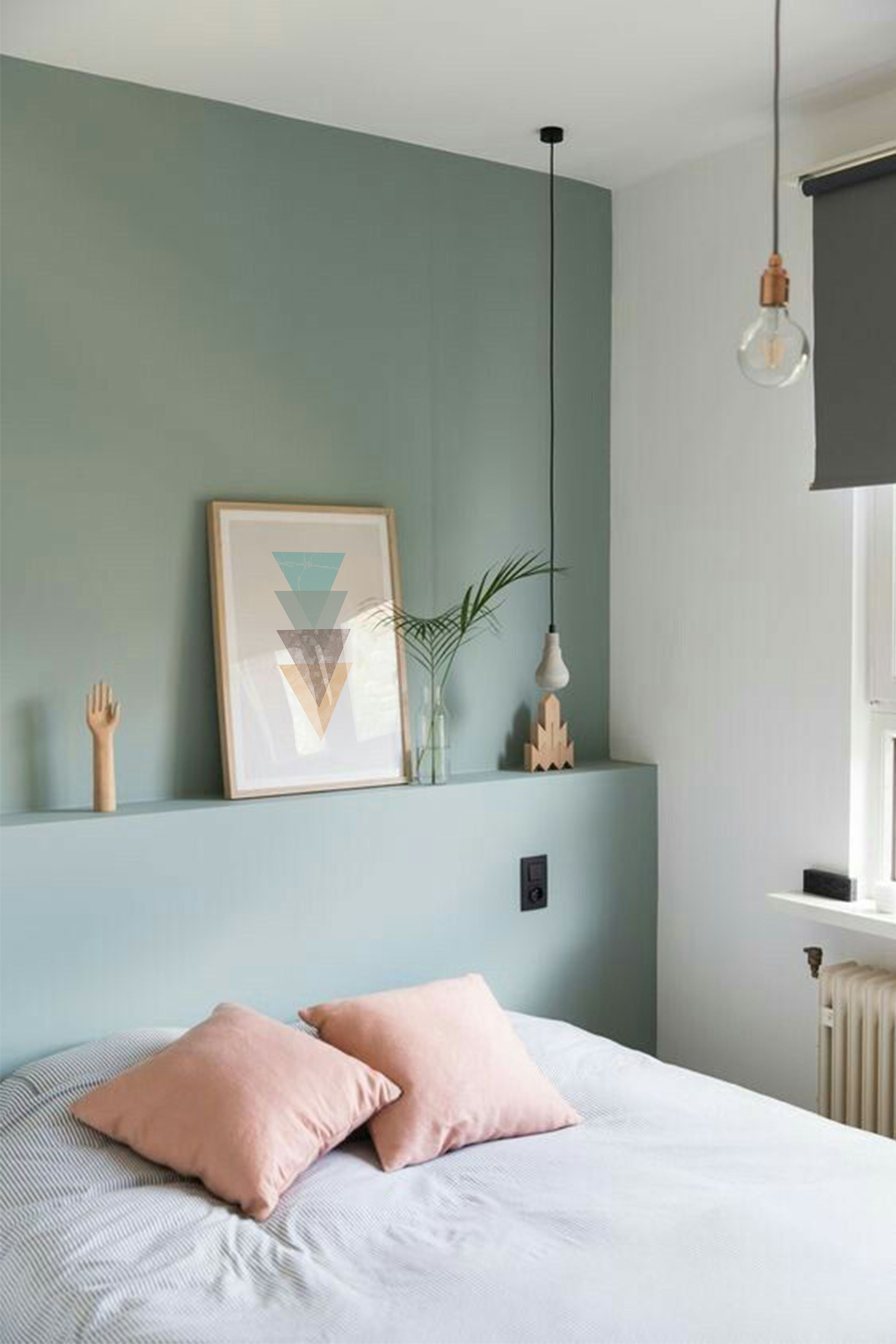 Turquoise Printable Home Decor Geometric Print Minimalist Art Bedroom Poster Turquoise Wall Art Digital Print In 2021 Bedroom Green Home Decor Bedroom Bedroom Colors Green minimalist room decoration