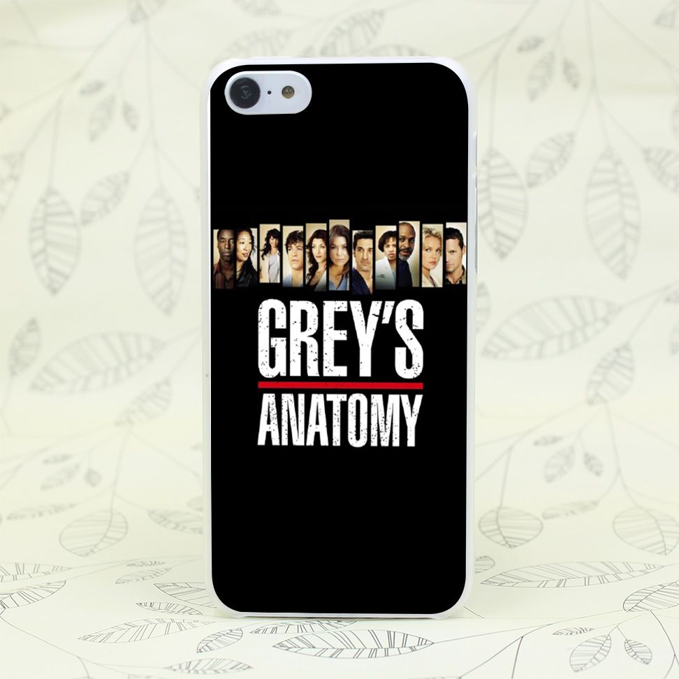 446F Greys Anatomy Season 9 Hard Transparent Case Cover for iPhone 7 ...