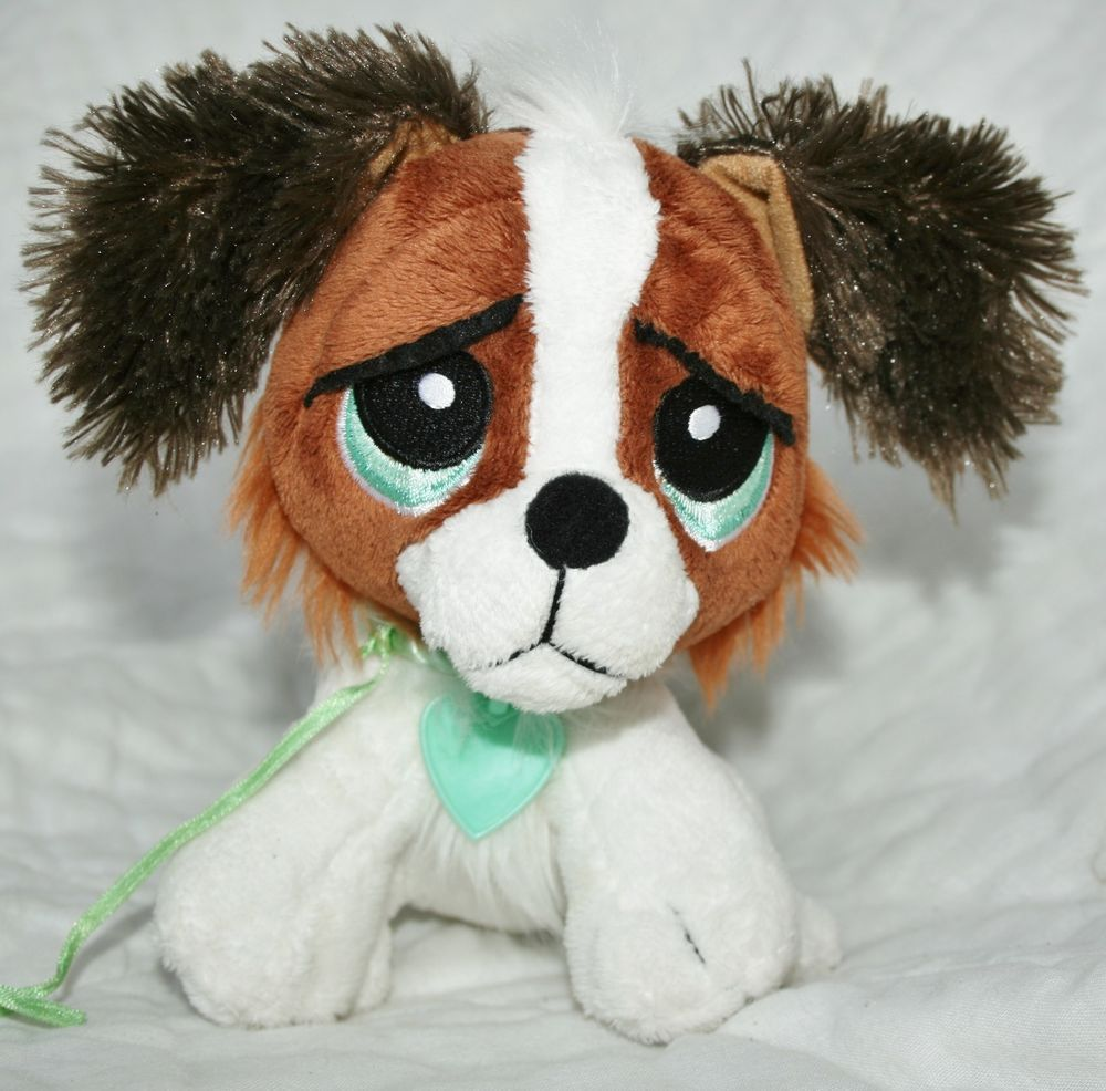 Rescue Pets My Epets Brown And White Puppy Dog Plush Toy Stuffed