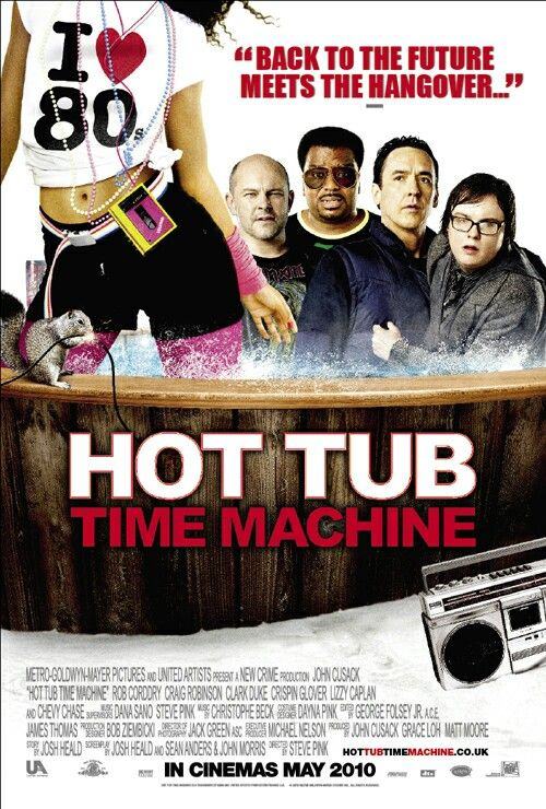 Image result for hot tub time machine poster hd