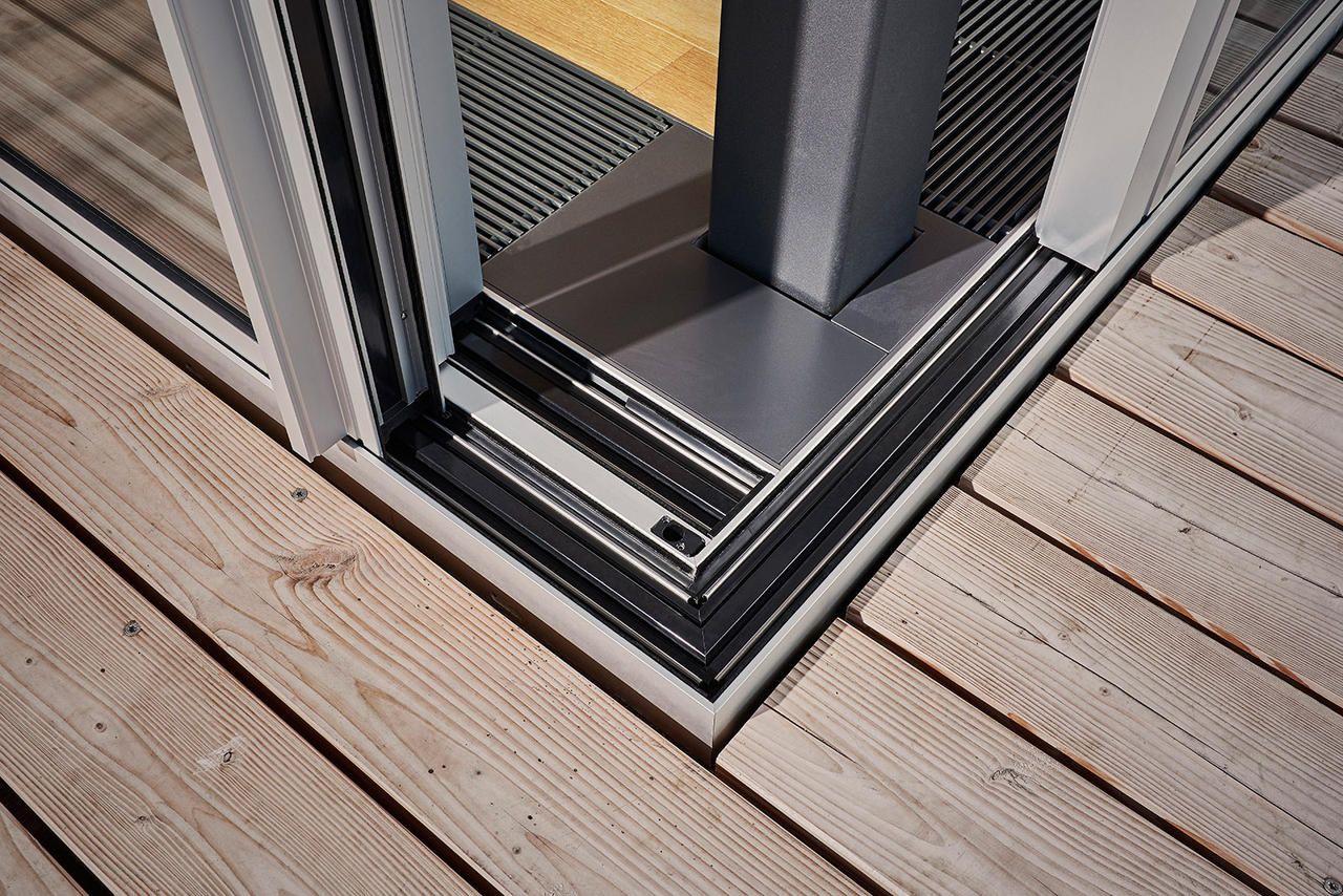 Schiebetür cero - Glasschiebetür ohne Rahmen. Schiebefenster ...