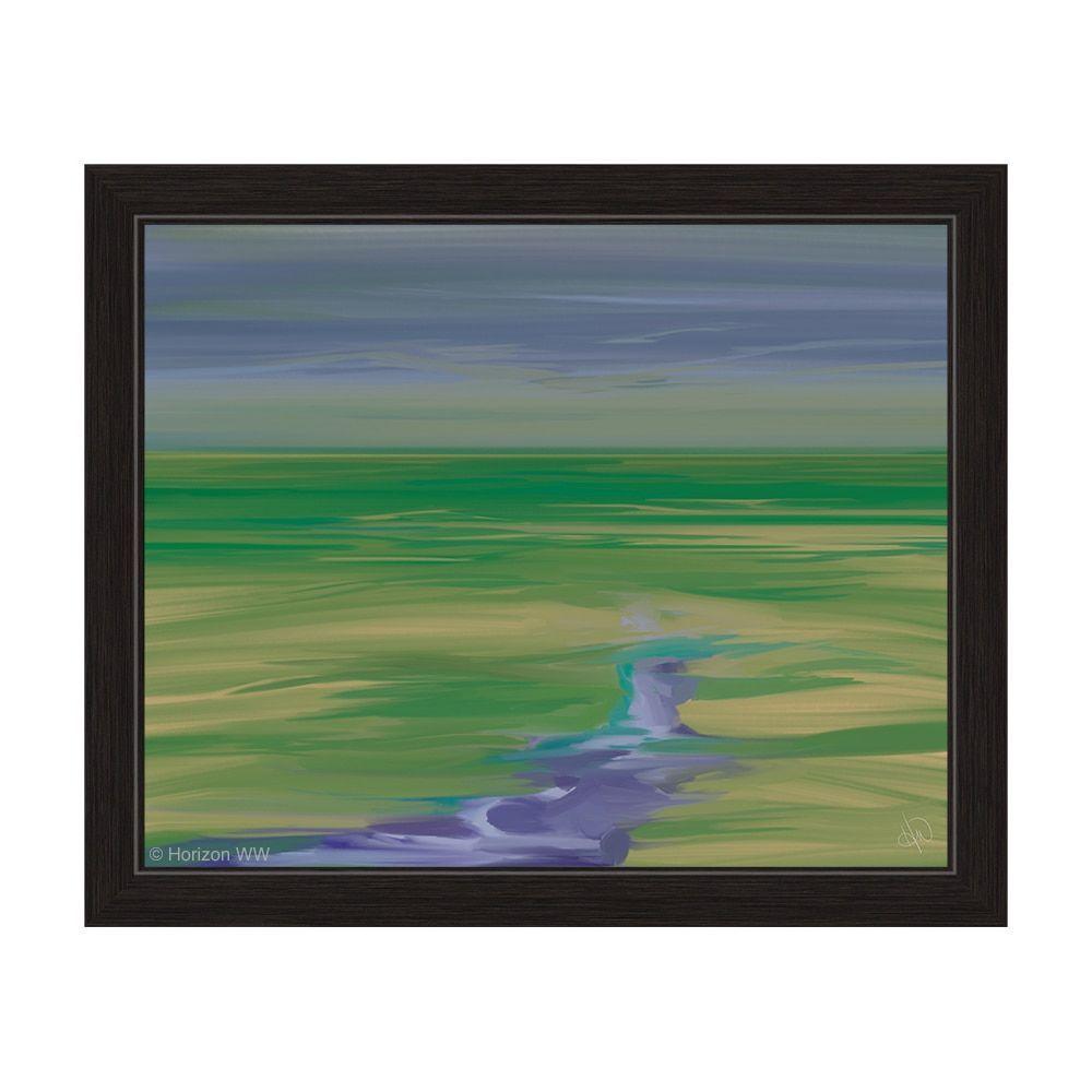 Horizon indigo lurker framed wall art products pinterest