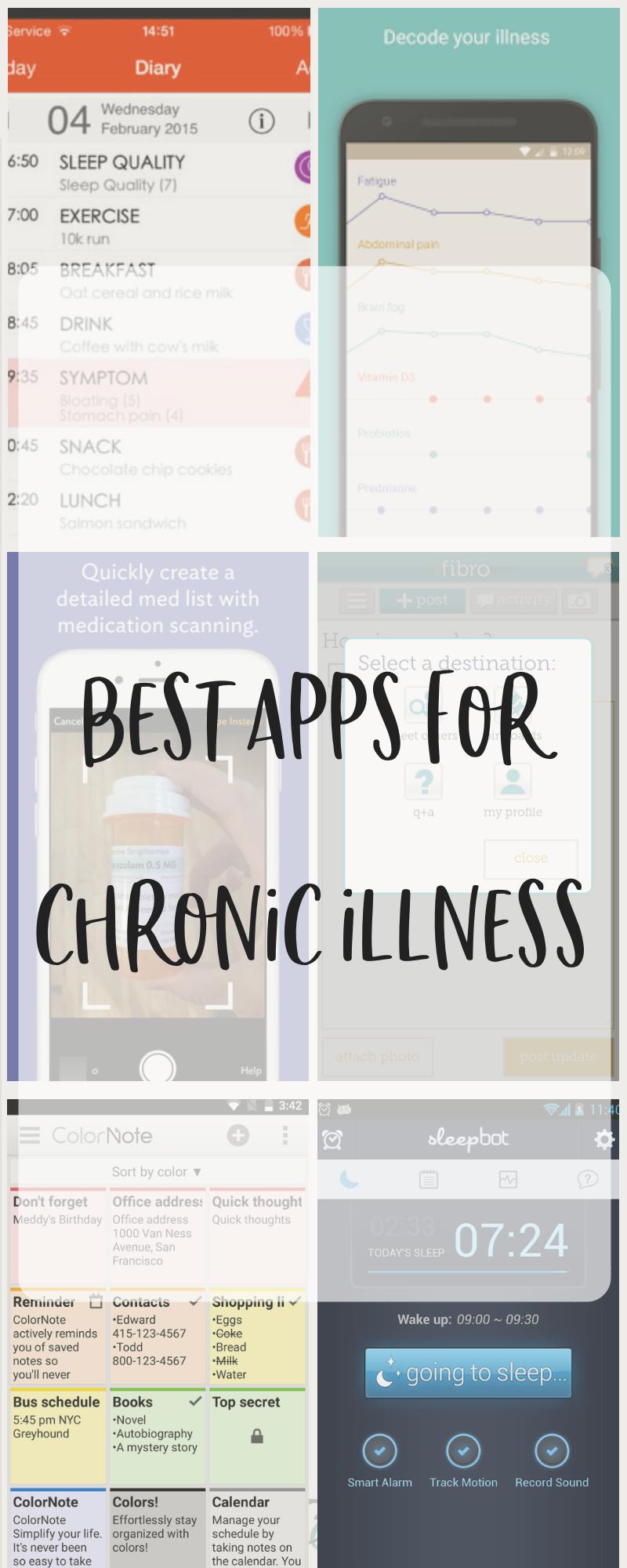 Best Apps for Chronic Illness