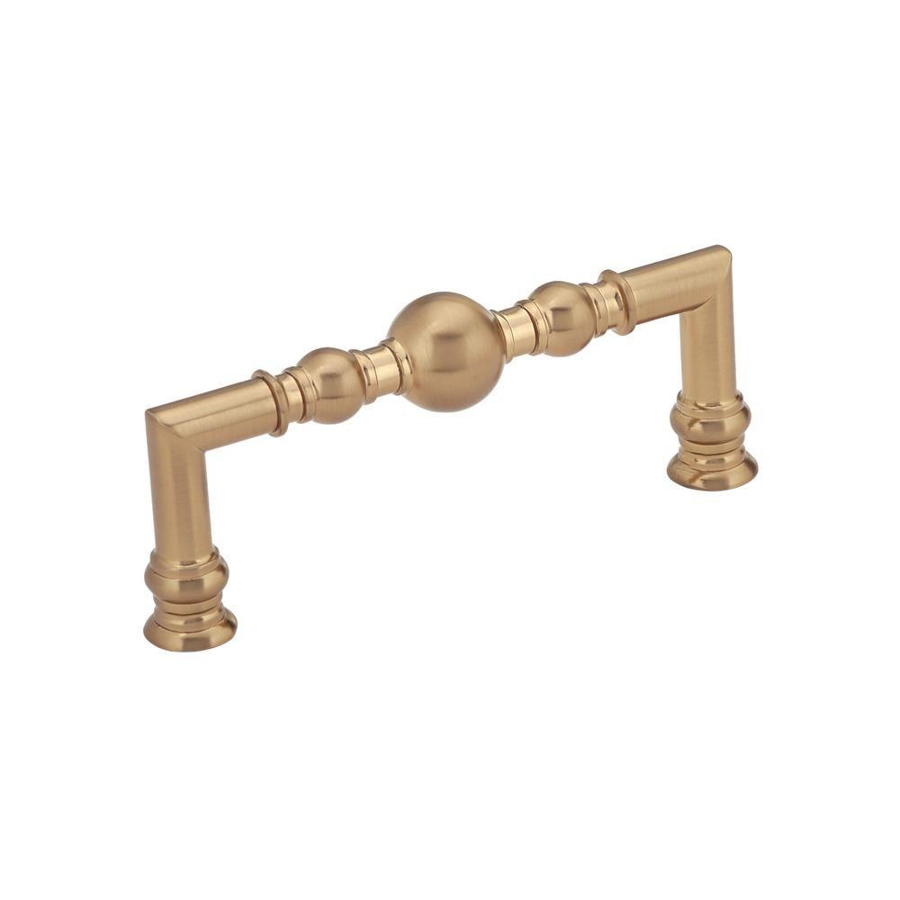 Richelieu hardware classic in mm champagne bronze