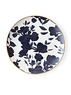 Ralph Lauren Audrey Porcelain 24k Gold Trimmed Salad Plate No Color