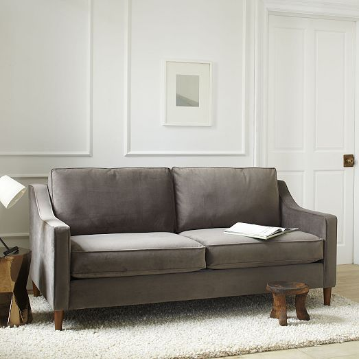 Paidge Sofa | West Elm. Sofa Idea For Living Room. Many Fabrics Available.