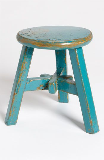 Royola Pacific Designs Small Decorative Wood Stool Available