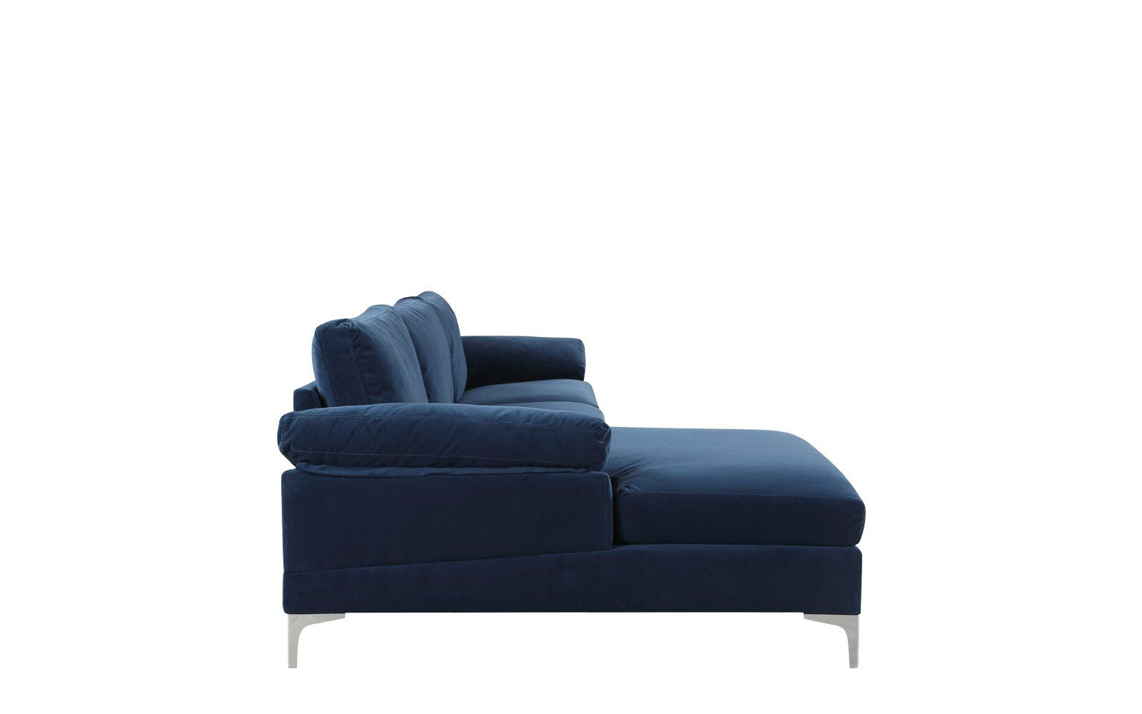 Magnificent Amanda Modern Velvet Large Sectional Sofa Compras Large Pdpeps Interior Chair Design Pdpepsorg