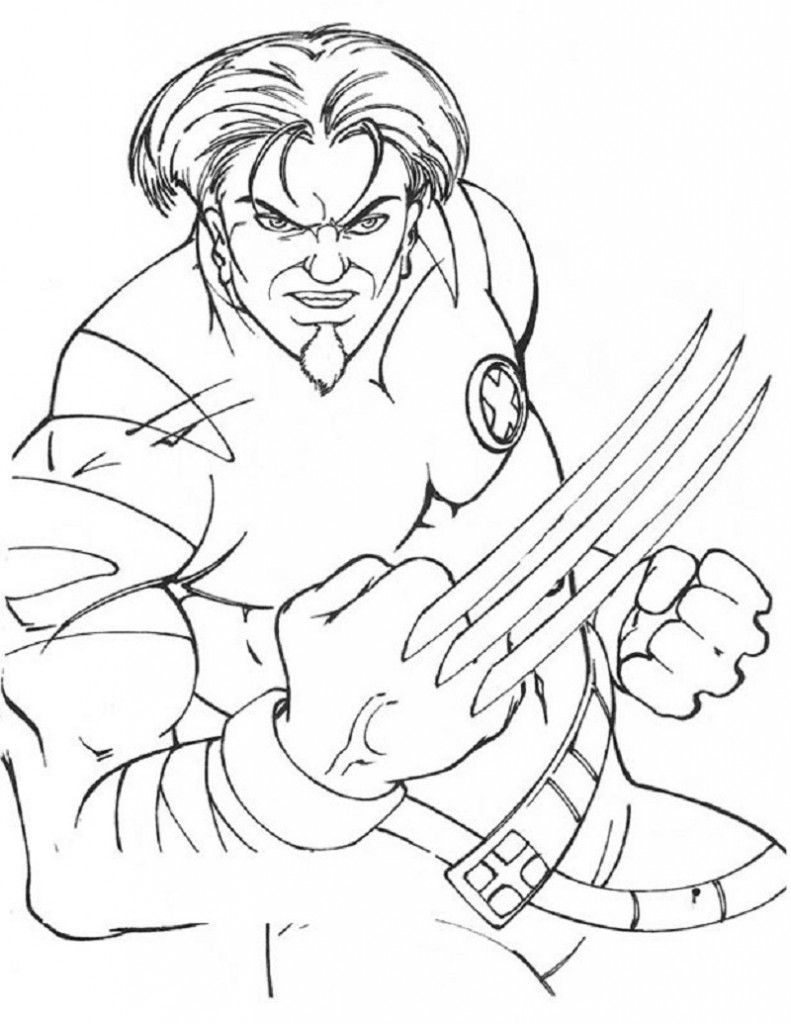 Free Printable X Men Coloring Pages For Kids Cartoon Coloring Pages Coloring Pages For Kids Coloring Pages