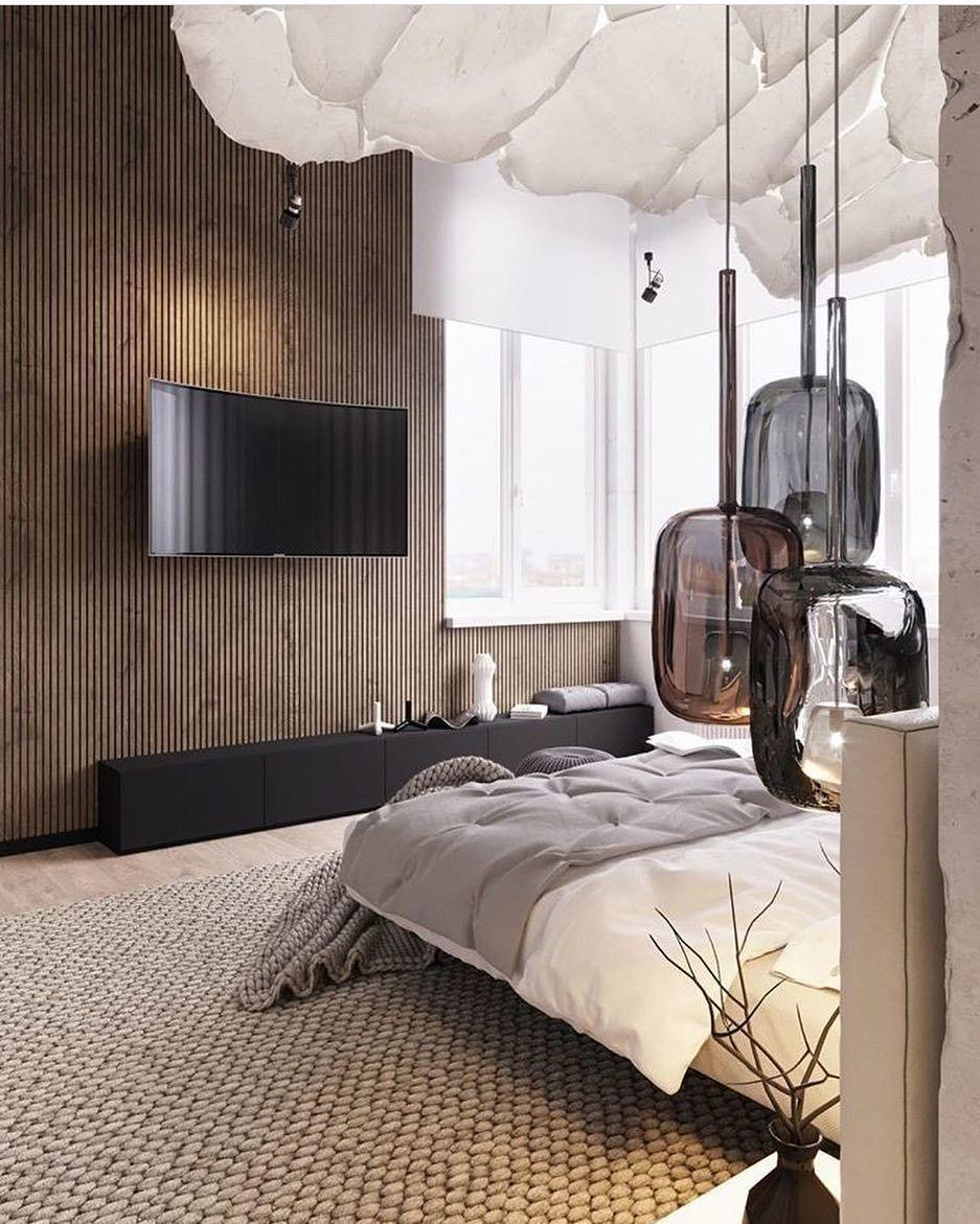 bedroom luxe slaapkamer slaapkamer interieur slaapkamers stedelijk appartement hedendaags appartement paren