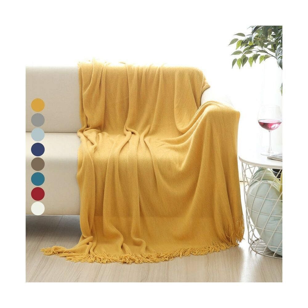 Surprising Alpha Home Soft Throw Blanket Warm Cozy For Couch Sofa Bed Bralicious Painted Fabric Chair Ideas Braliciousco