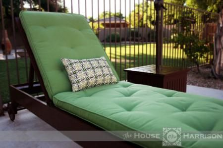 Diy Outdoor Chaise Lounge Do It Yourself Home Projects