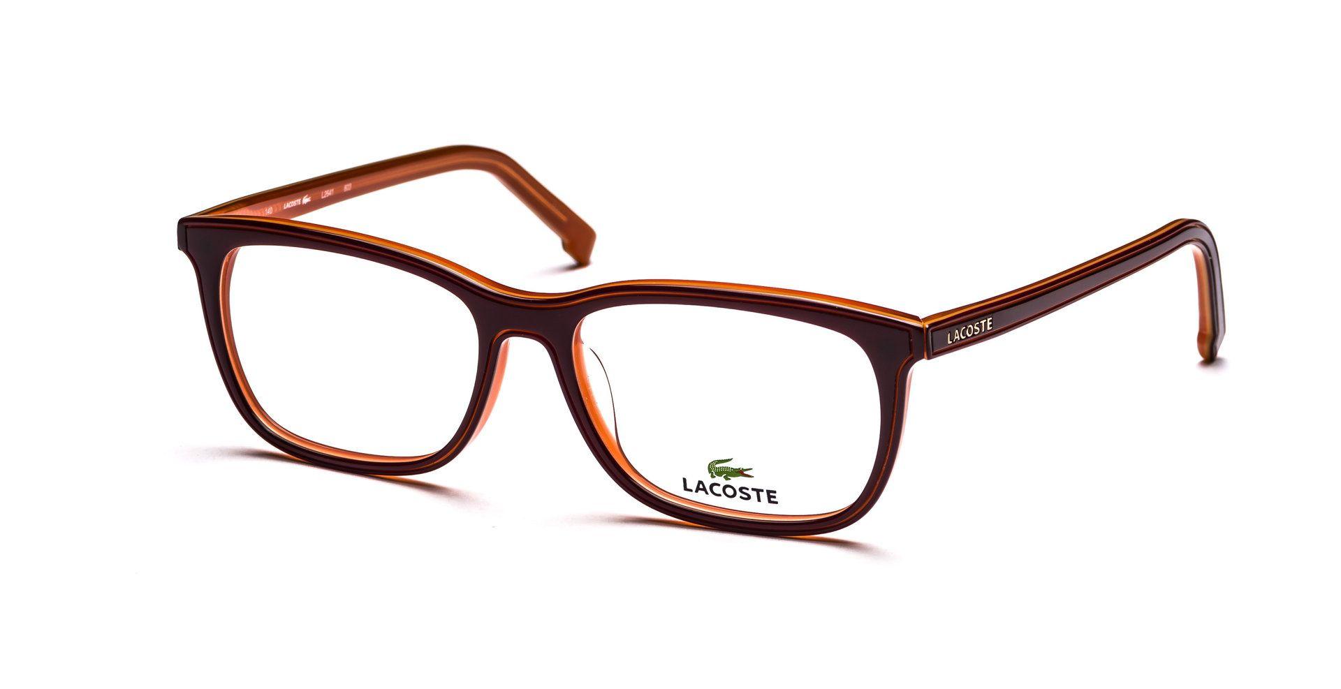 Lacoste Glasses   Bordeaux/Orange