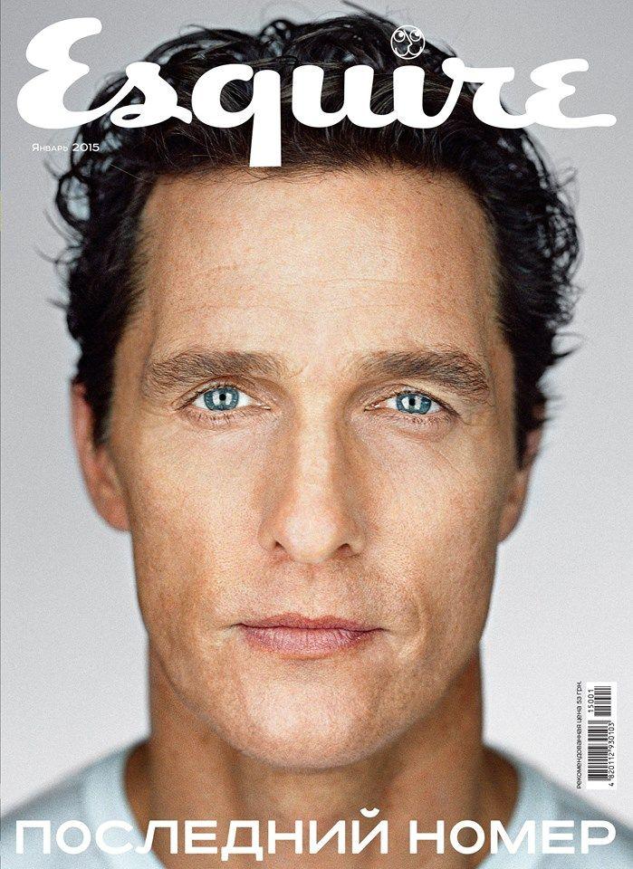 Matthew McConaughey for Esquire Ukraine January 2015