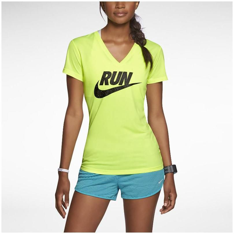Nike Legend Run Swoosh Running Shirt for Women | Msportswomen