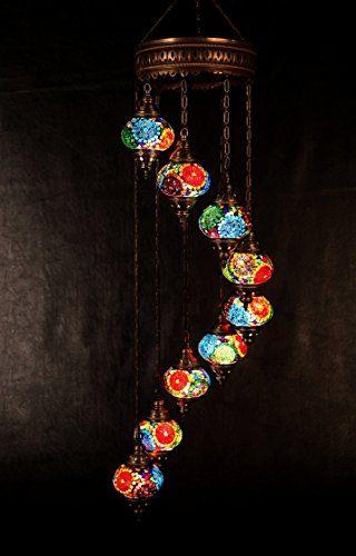 Chandelierarabian mosaic lamps moroccan lanternturkish light hanging lamp mosaic