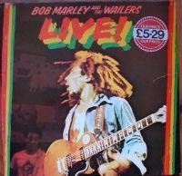 Bob Marley And The Wailers – Live!  ILPS 9376 ,A-5U/B-5U Reggae  Płyty Winylowe