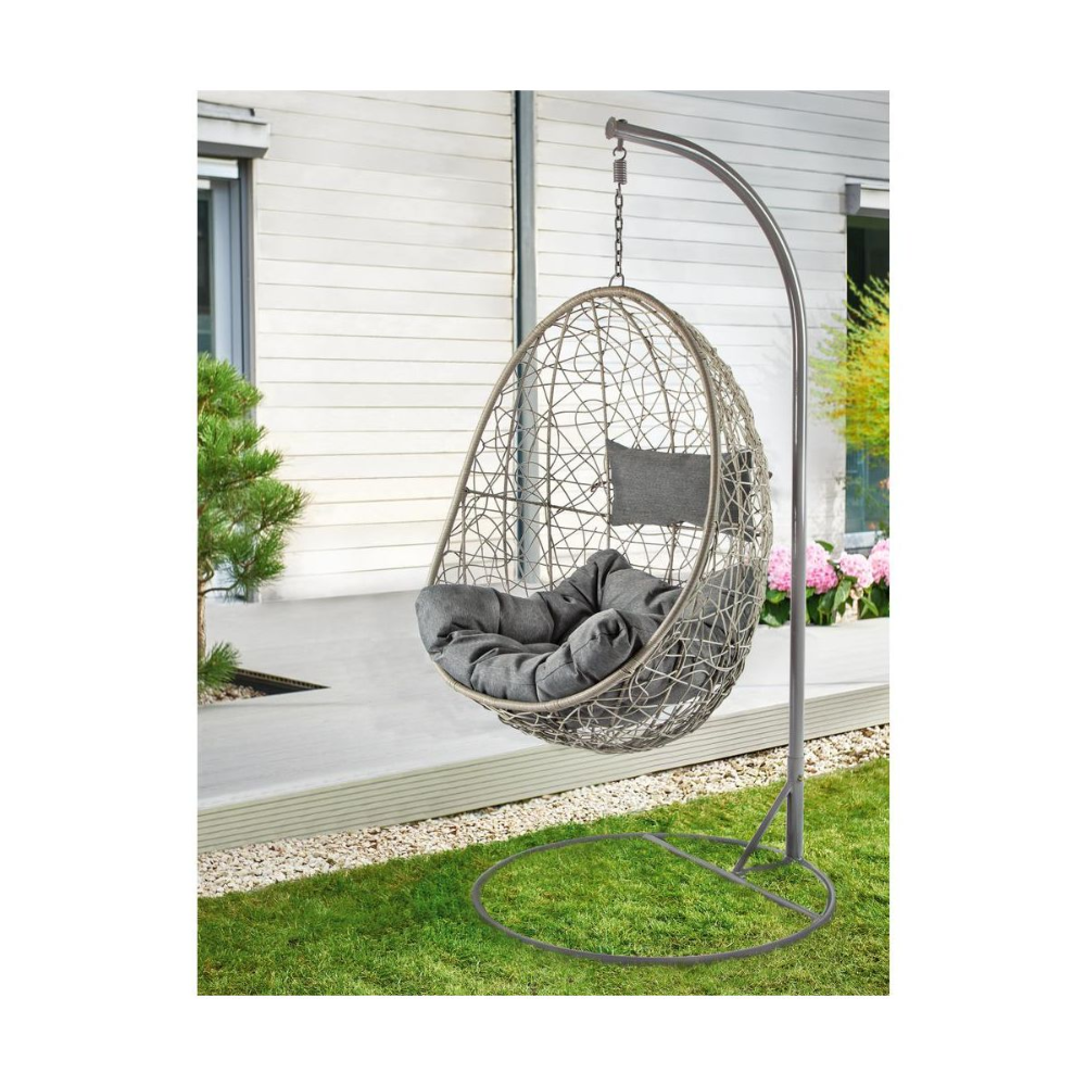 Fotel Wiszacy Aruba Hustawki Ogrodowe W Atrakcyjnej Cenie W Sklepach Leroy Merlin Hanging Chair Decor Home Decor