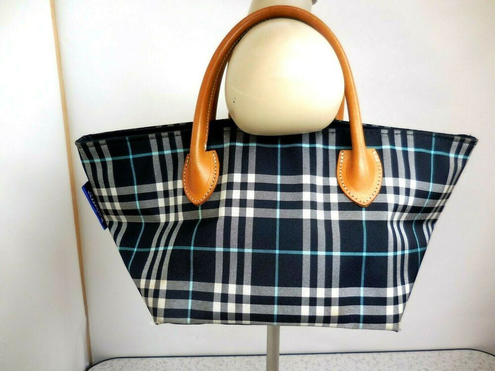 Burberrys Blue Label Cute Hand Bag Rare Very Good Condition Fashion Clothing Shoes Accessories Womensb With Images Blue Bags Woman Bags Handbags Purse Organization
