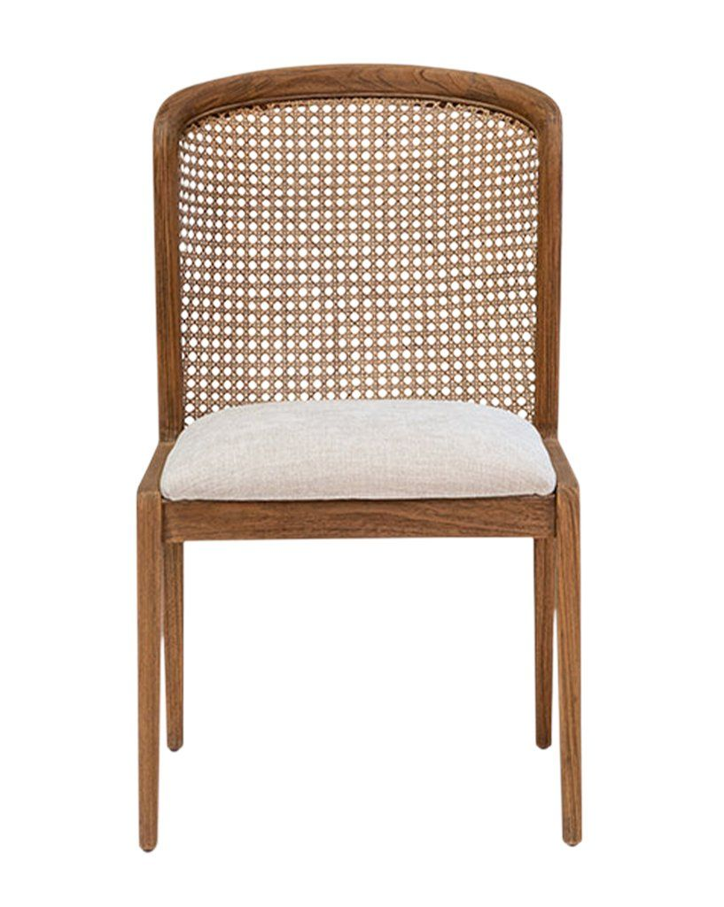 Irma Chair Cane Dining Chairs Solid Wood Dining Chairs Comfortable Furniture