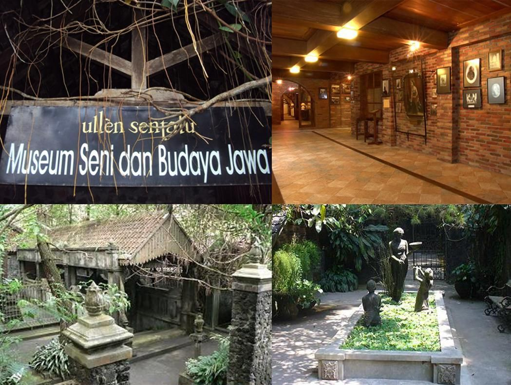 Ullen Sentalu is a private museum at Yogyakarta (With