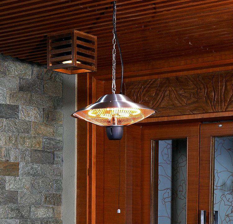 Trekkoord Plafond Opknoping Elektrische Infrarood Kachels Patio Indoor Outdoor Waterdichte Kachels 220-240 V ROHS IP24 Hoge Kwaliteit