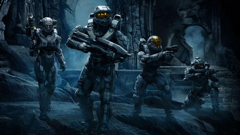 Halo 5 Guardians Team Chief Hd Wallpaper Hd Wallpapers Quality Hd Desktop Wallpapers Equipo Azul Halo Fondos De Pantalla Jefe Maestro De Halo