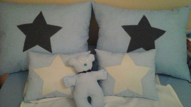 Sweet House: Almofadas para a cama nova do principe