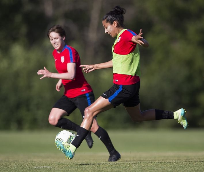 Gallery Wnt Continues Olympic Prep In Chicago Ahead Of Send Off Match Vs South Africa Womens Soccer Soccer Olympics