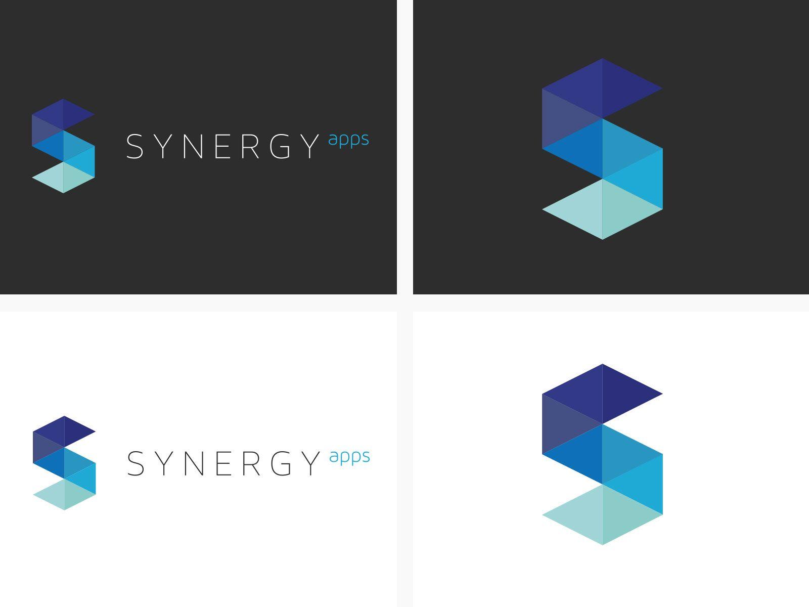 Loghi Mobili ~ Mobile software logo design synergy apps logo rocket