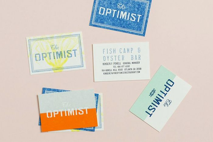 7 creative business card ideas tools to create your own color block business cards reheart Image collections