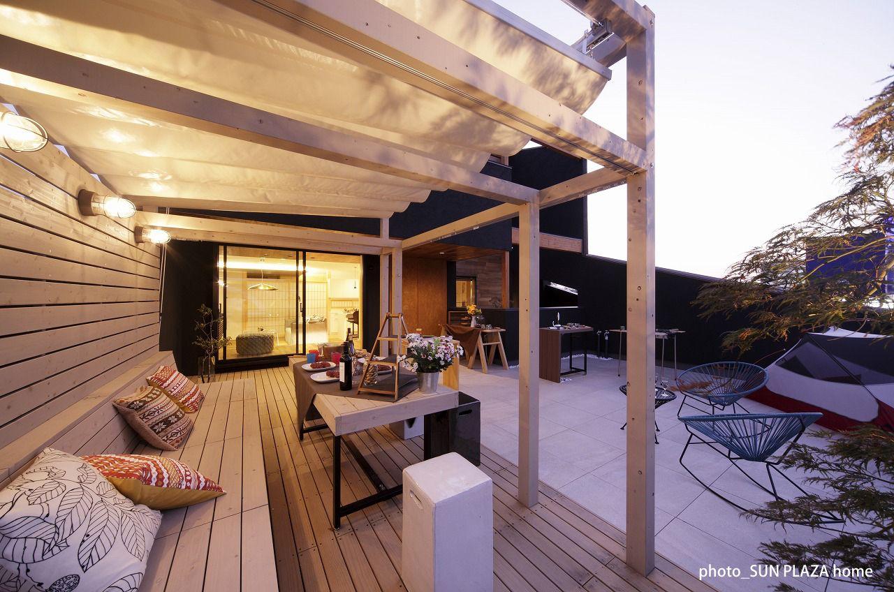 自宅屋上で楽しむ贅沢時間 日本初のグランピングテラスを自宅に 住宅 家 住宅設計プラン