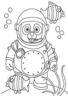 Special Agent Oso Coloring Pages Page For Kids