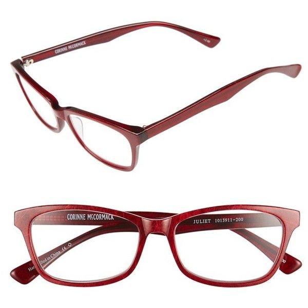 764b4dd0d34 Corinne McCormack  Juliet  53mm Reading Glasses ( 23) ❤ liked on Polyvore  featuring