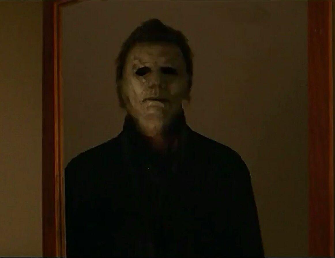 Halloween 2018 Michael Myers Face.Michael Myers Mirror Halloween Movie 2018 Halloween In 2019