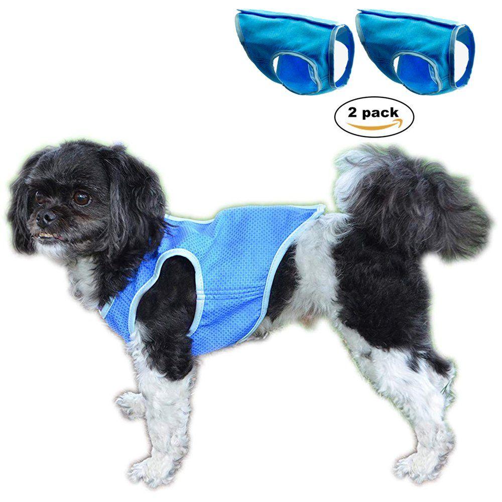 Dog Cooling Vest Swamp Cooler Jacket For Pet Pet Cooling Coat For