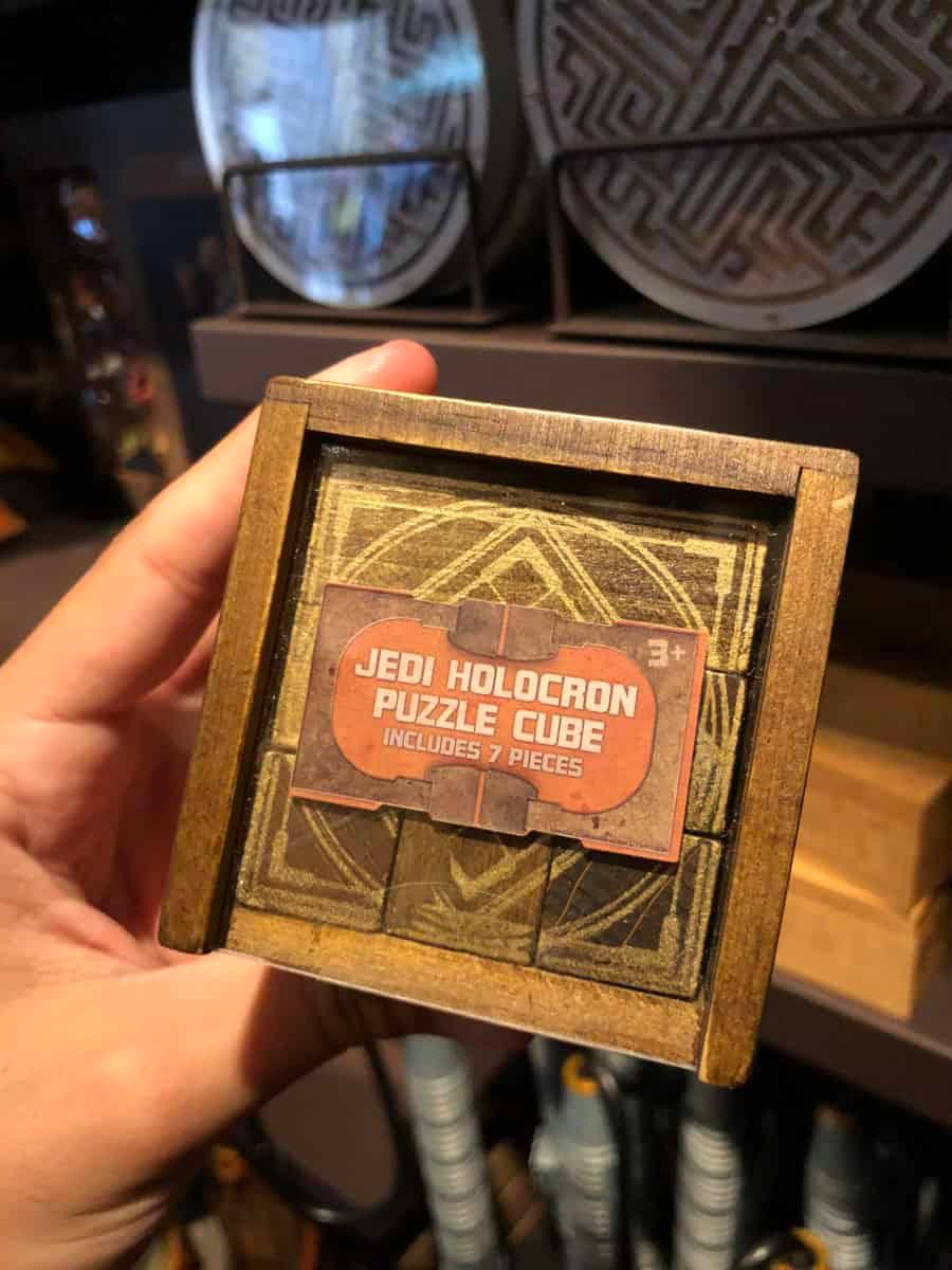 Star Wars Galaxy's Edge Jedi Holocron Cube Lights Sound Effects Disney Parks