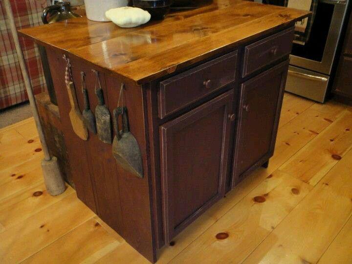 beautiful kitchen island with modern prim o flaged conveniences weiricks - Rustikale Primitive Kchen