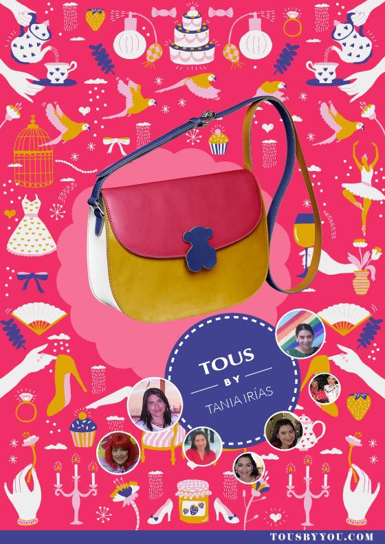 Ultrapersonaliza el bolso que va con tu manera de ser con la ayuda de tus redes sociales en http://int.tous.com/es/byyou/bags/