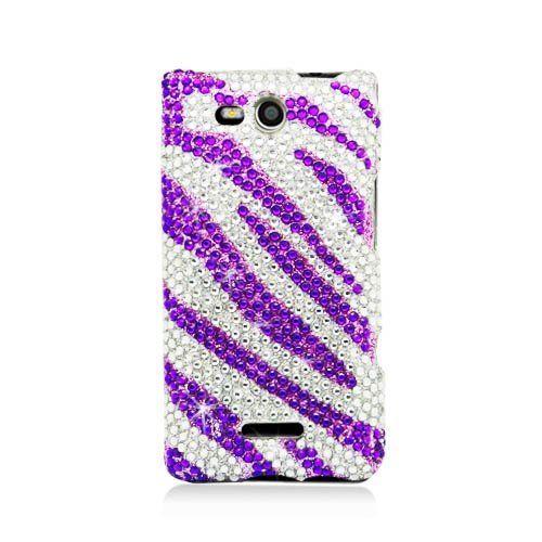 Lg Lucid 4g/vs840 Full Cs Diamond Protector Case Purple Zebra by eaglecell. $12.95. Save 57% Off!