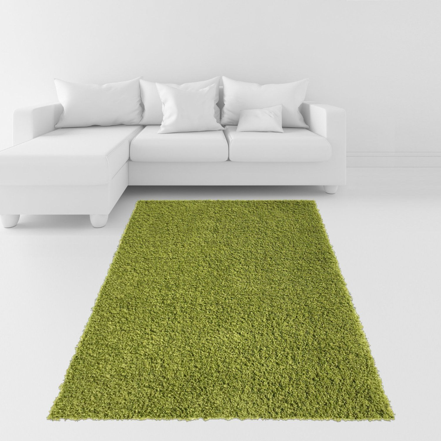 Green Shag Rug Modern Design High Quality Luxury Area Rug | Rugs .
