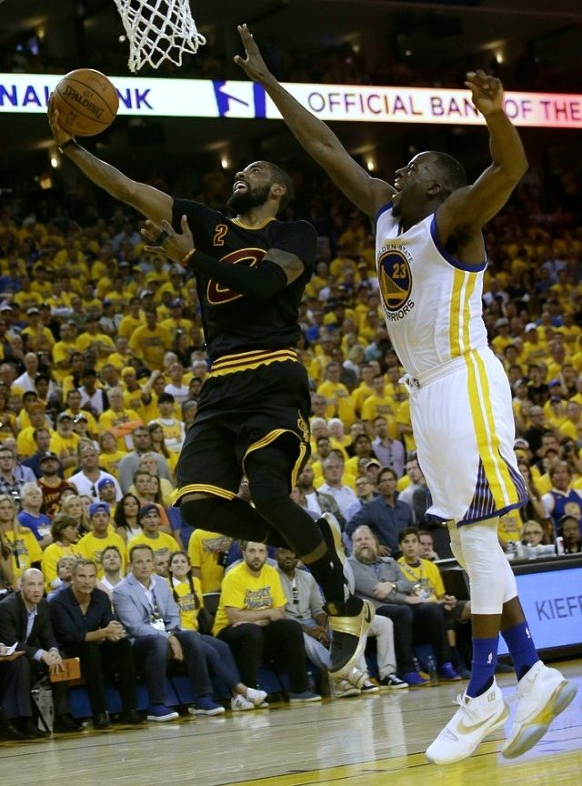 85e296986bf NBA Kicks On Fire  Kyrie Irving drives to the basket in Game 7 of the NBA  Finals