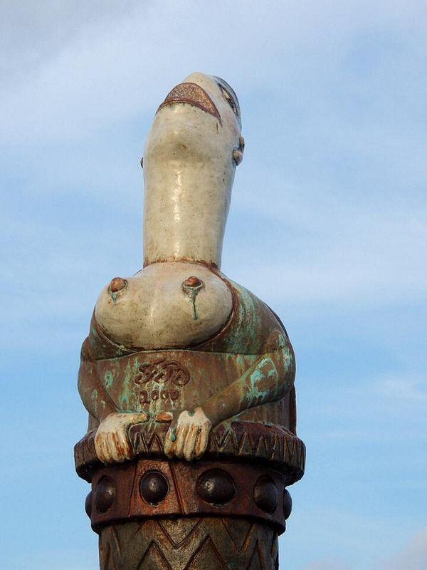 Obra de Francisco Brennand. Parque de Esculturas Brennand, Recife