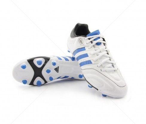 Botas de fútbol Adidas Adipure 11core TRX FG ADULTO   White / Bright Blue 79,95€ (G60010) #botas #futbol #adidas #soccer #boots #football #footballprice