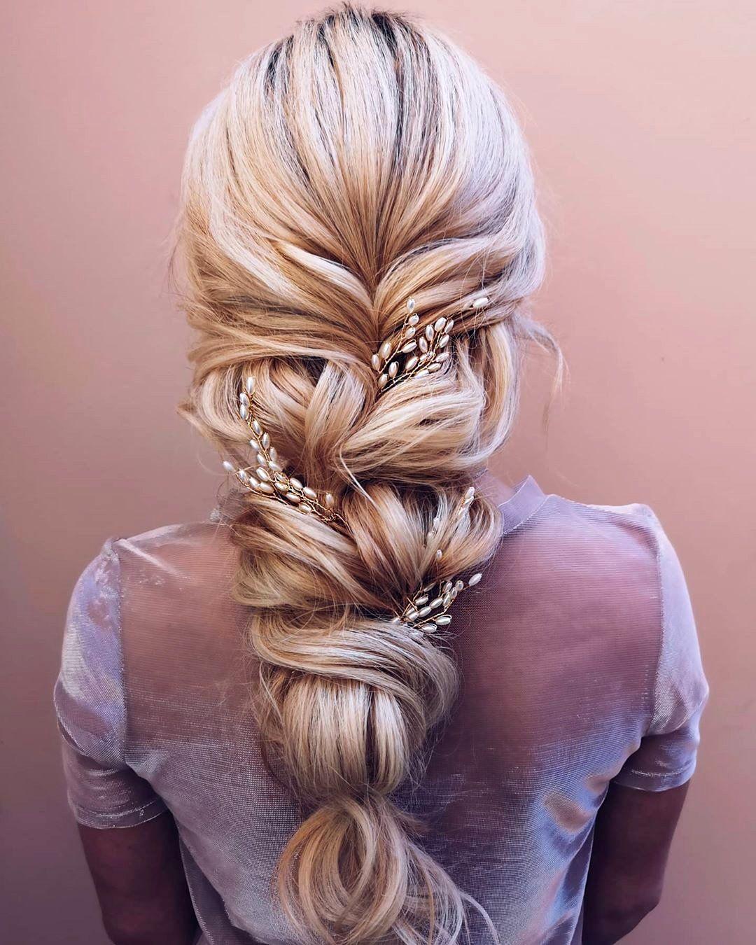 39 Adorable Braided Wedding Hair Ideas In 2021 Wedding Hair Inspiration Long Hair Designs Bride Hairstyles
