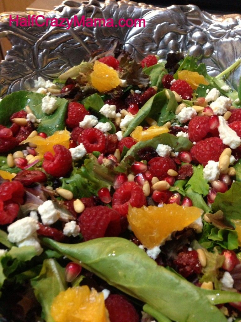 Heart Health Super Salad With Raspberries Cranberries And Pomegranate Lucky Supermarket Freshfinds Half Crazy Mama Packaged Salad Healthy Salad Recipes Salad