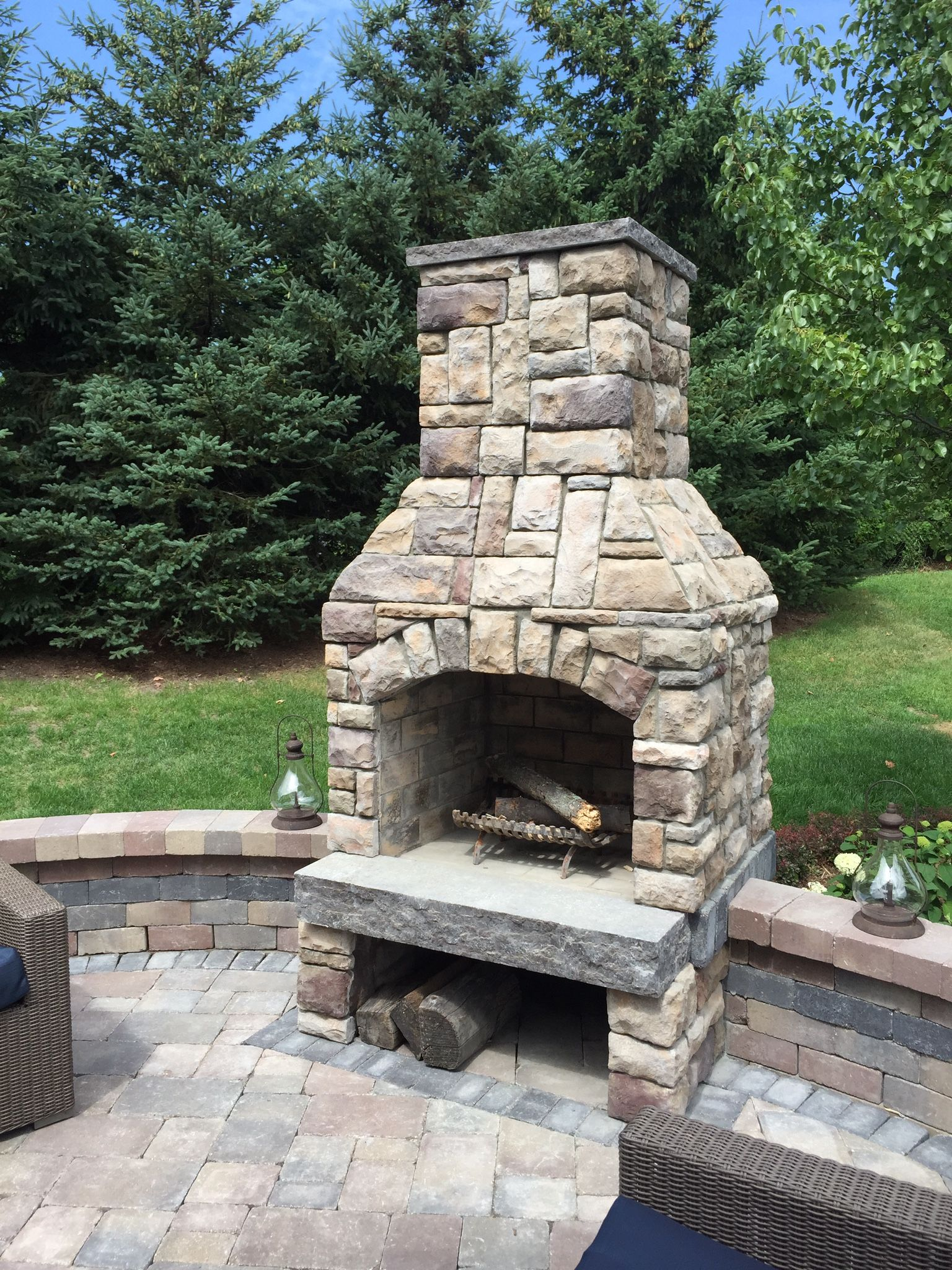 Outdoor Fireplace Contractors Stone Age 36 Quot Contractor Series Fireplace Fireplaces