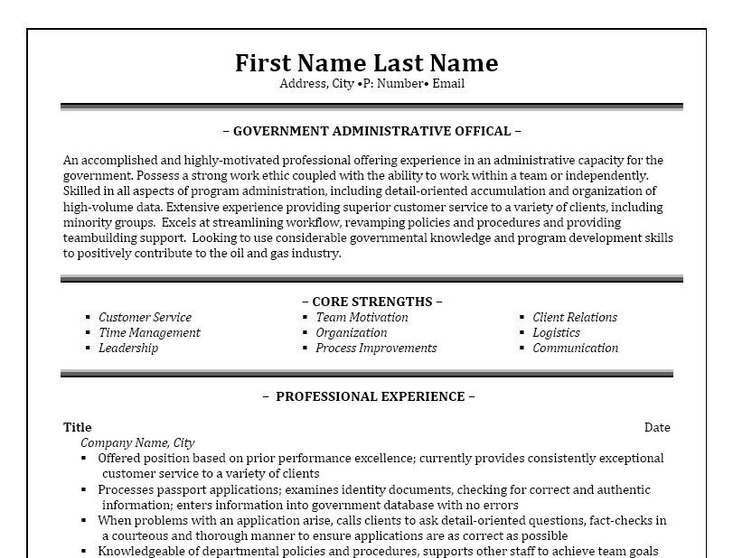 Administrative Assistant Resume Template Premium Resume Samples - resume samples for administrative assistant