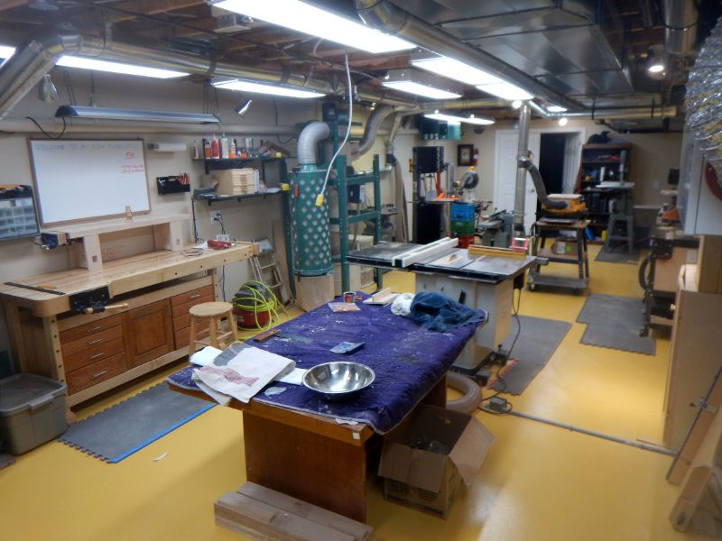 Woodworking Workshop Bruce Macdonald Show Us Your Workshop